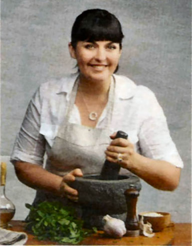 Australian celebrity chef, Karen Martini