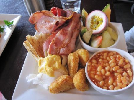 Mr L's breakfast