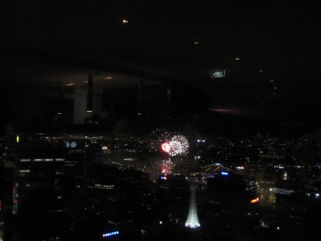 Fireworks from the Summit