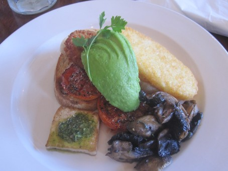 Veggie breakfast at Django Django