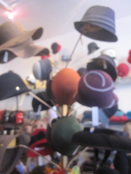 Forget the tent party, I'm off to a hat party!