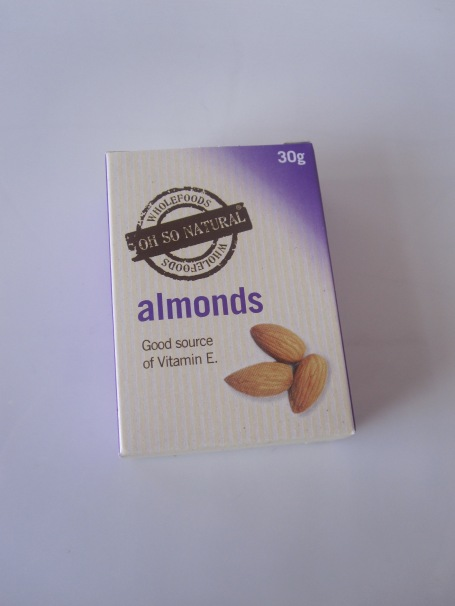 Almonds - a good source of vitamin E
