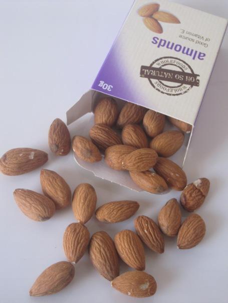Almonds, delicious almonds!