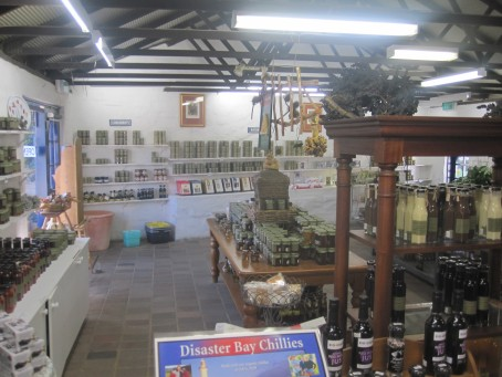 Jars and jars of bottled goodness at The Little Hand Stirred Jam Shop, Berrima
