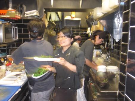 The LL kitchen crew