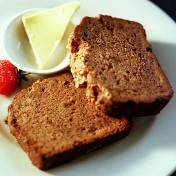 Steve Manfredi's banana bread - photo by Jon Reid