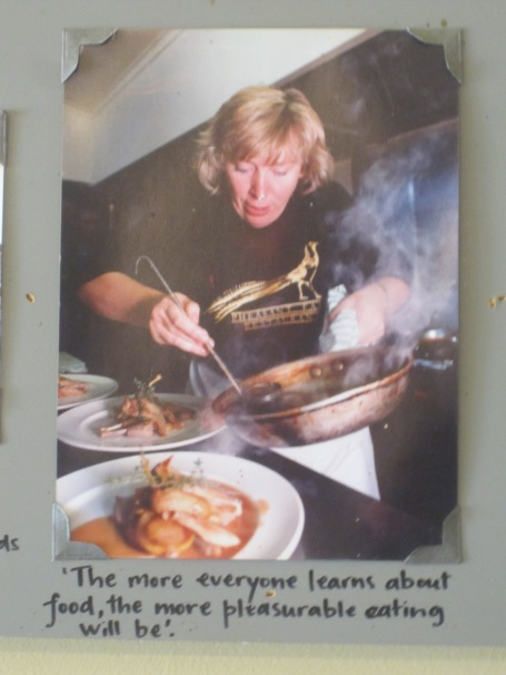 """The more everyone learns about food, the more pleasureable eating will be."" Maggie Beer"